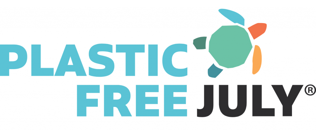 logo plastic free july