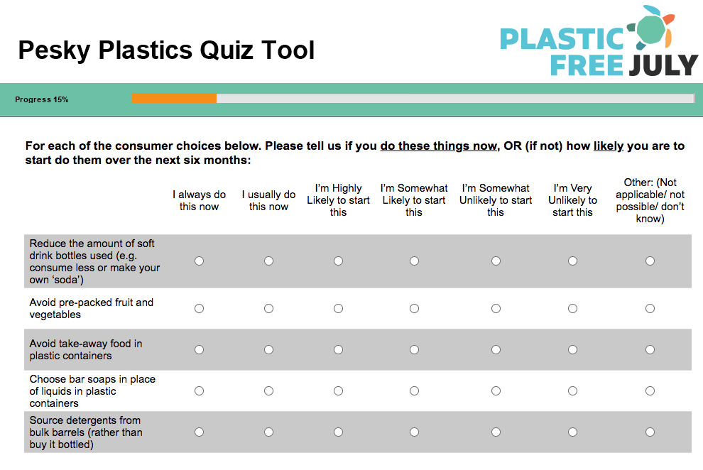 quiz plastic free july