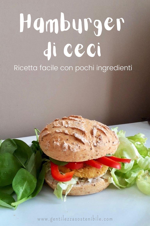 Hamburger di Ceci: Ricetta Facile con Pochi Ingredienti