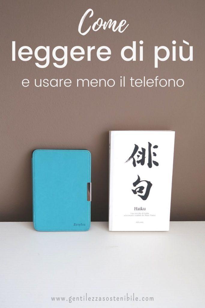 blog come leggere di più e usare meno il telefono