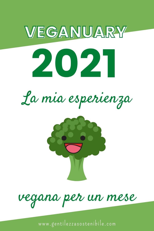 Veganuary 2021: La Mia Esperienza