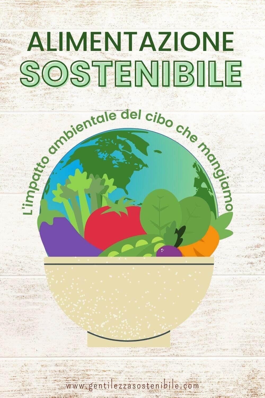 Alimentazione Sostenibile: scopri l'Impatto Ambientale del Cibo