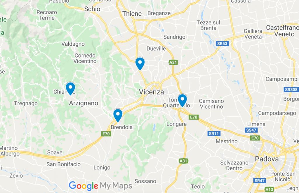 Negozi di vestiti usati a Vicenza