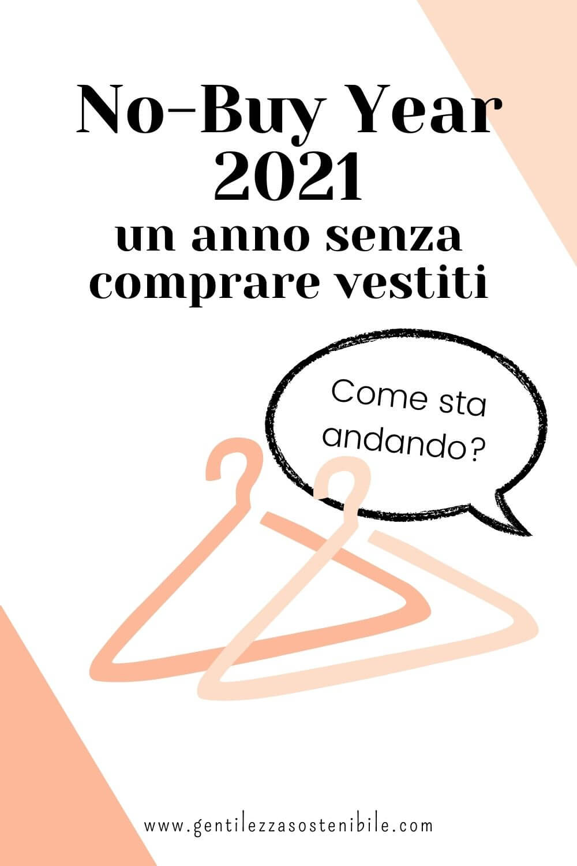 No-Buy Year 2021: un anno senza comprare vestiti